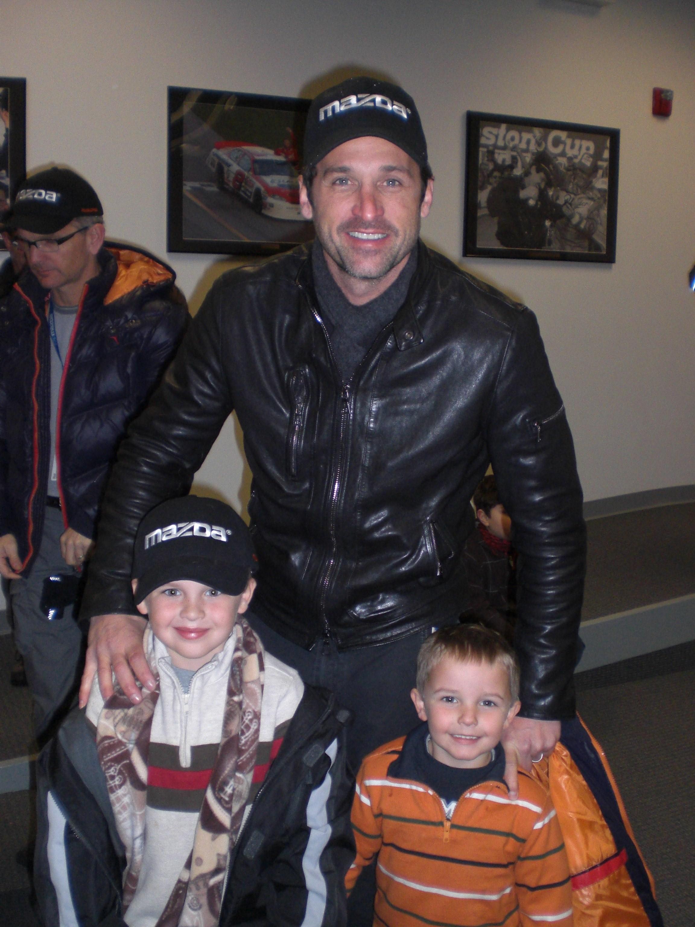 Patrick Dempsey And Kids
