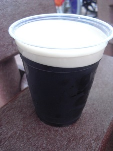 A trip to Ireland wouldn't be complete without the Guinness.