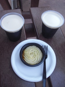 Seafood Shepherd's Pie and Guinness -- So Happy Together!