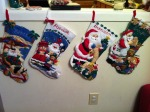 My Homemade Christmas Stockings
