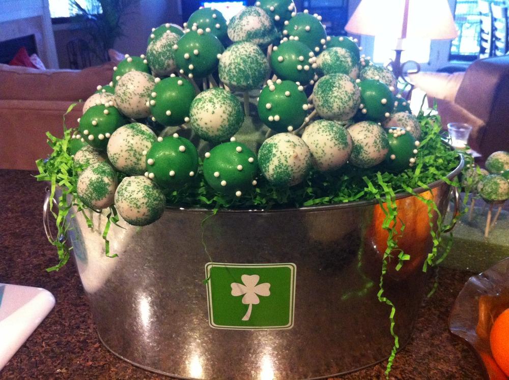 St Patrick 39s Day Cake Pops