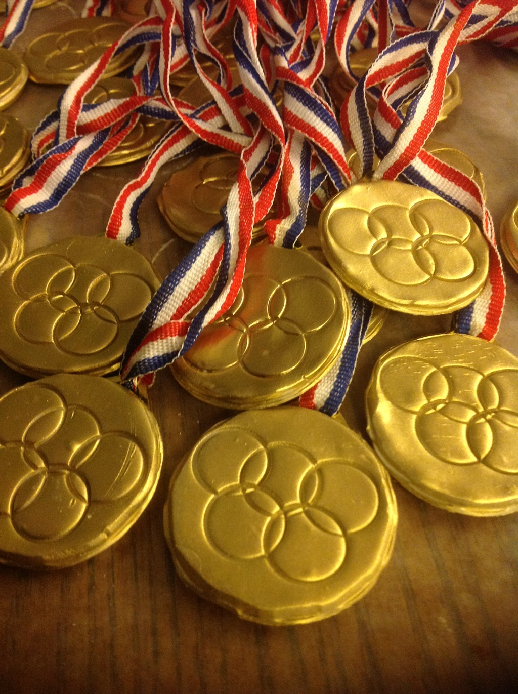 making olympic medals