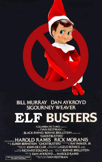 elf on the shelf - fun with photoshop