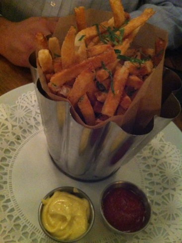 French Fries from the Pharmacy.