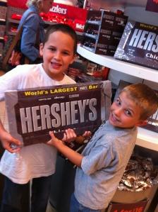 Chicago Hershey store