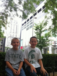 Repping MSU in Chicago
