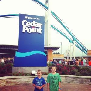Cedar Point time!!!
