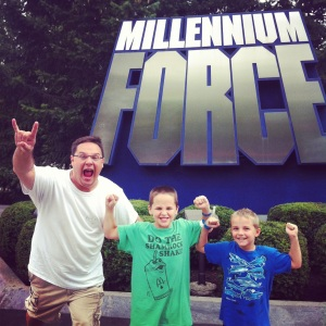 We survived Millennium Force!