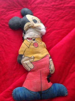 My poor, sad Mickey Mouse.