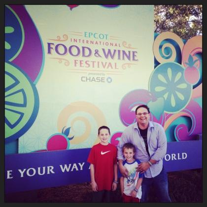Epcot International Food & Wine Festival - 2013.