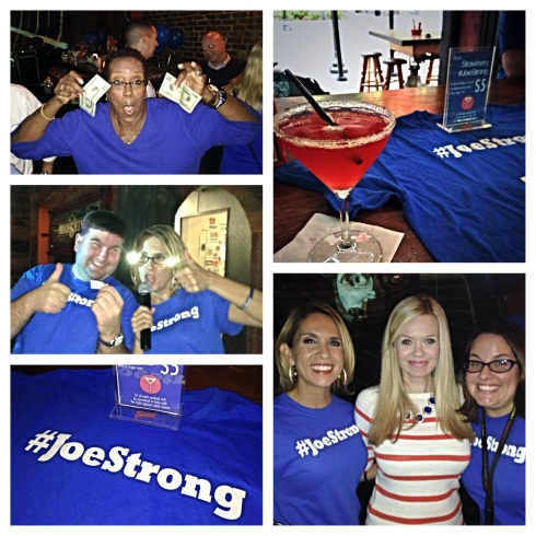 #JoeStrong Happy Hour!