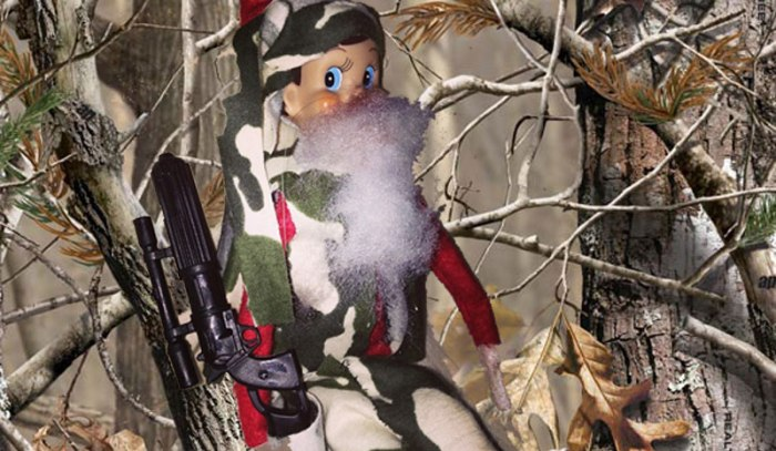 Duck Dynasty Elf on A Shelf