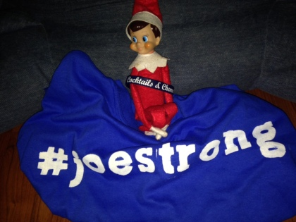 #JoeStrong Elf On A Shelf