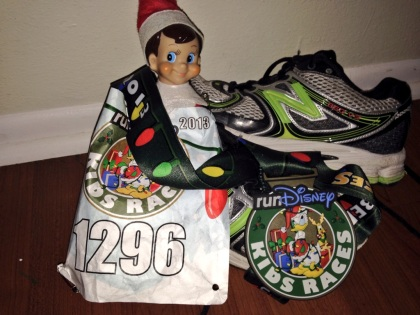 Our Elf On A Shelf got into RunDisney.