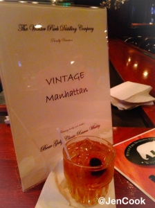 The Vintage Manhattan at Christner's Prime Steak & Lobster