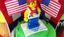 2012 Summer Olympic Birthday Party.